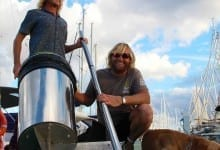 Two friends invented a floating can that cleans the ocean called: Seabin