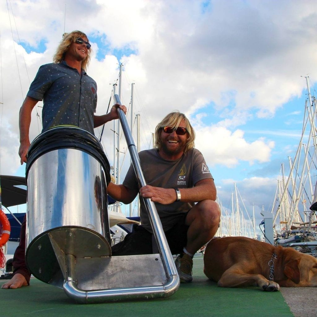 Photo of Two friends invented a floating can that cleans the ocean called: Seabin