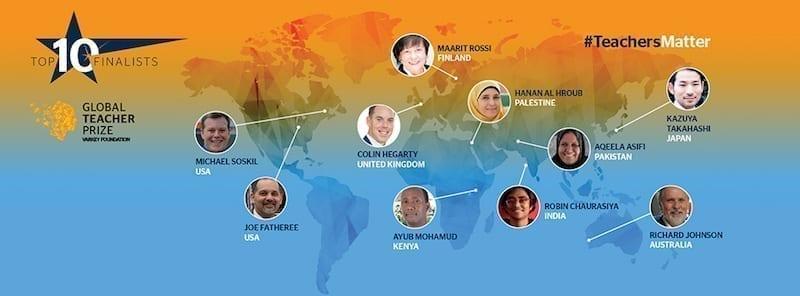 top-10-finalists-global-teacher-prize-2016-india-australia-japan-uk-usa-finland-pakistan-kenya
