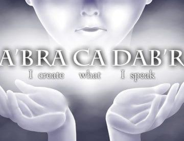 אברה קדברה: ״האם המילים שלי יצירתיות או מגבילות?״