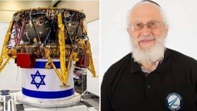 "Photo of המהנדס החב""דניק של החללית ""בראשית"" סוגר מעגל"
