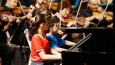 "Photo of סולני העתיד של ישראל בקונצרט ראשון מסוגו של התזמורת הסימפונית ר""ג"