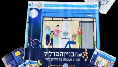 Photo of חנוכה קהילתי בתל אביב-יפו- שכנים ושכנות חוגגים ביחד