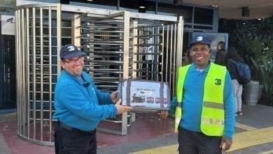 Photo of העובדים קיבלו מתנות לחג- החנוכה!!