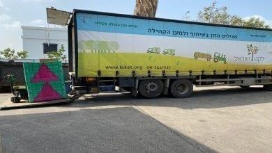 Photo of חקלאי העלעלים שמחפשים לתרום את הסחורה התקועה.