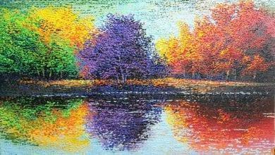 "Photo of צבעים הם החיוכים של הטבע."" ~ ג'יימס הנרי לי האנט"