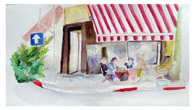 Photo of בבית קפה בבוקר